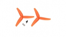2 x Heckrotorblatt Blade 230 S V2, orange