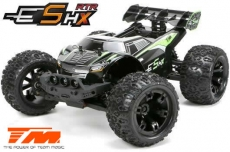 Auto - 1/10 Racing Monster Elektrisch - 4WD - RTR - Brushless - Wasserdicht - Team Magic E5 HX - Schwarz/Grün