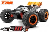 Monster Truck Elektrisch - 4WD - RTR - Brushless 2500KV - 4S - Wasserdicht - Team Magic E6 III HX
