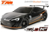 Auto, RC-Car, 1/10, elektrisch, 4WD Drift, RTR, Team Magic, E4D-MF - T86