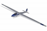 EFL11150, E-flite® Opterra 2m Flying Wing BNF Basic