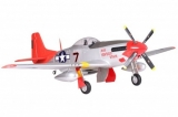FMS P-51 Mustang Red Tail PNP - 170 cm - Combo incl. Reflex Gyro System